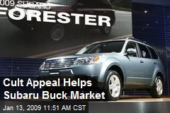 Cult Appeal Helps Subaru Buck Market