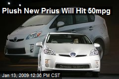 Plush New Prius Will Hit 50mpg