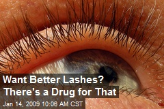 Want Better Lashes? There's a Drug for That