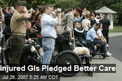 Injured GIs Pledged Better Care