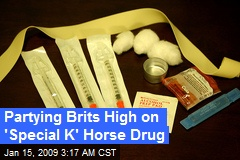 Partying Brits High on 'Special K' Horse Drug