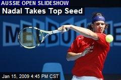 Nadal Takes Top Seed