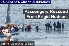 Passengers Rescued From Frigid Hudson