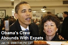 Obama's Crew Abounds With Expats