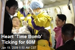 Heart 'Time Bomb' Ticking for 60M