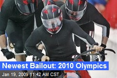 Newest Bailout: 2010 Olympics