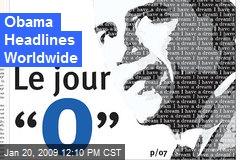 Obama Headlines Worldwide