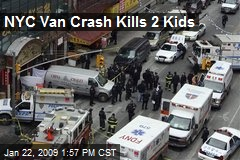 NYC Van Crash Kills 2 Kids