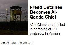Freed Detainee Becomes Al-Qaeda Chief