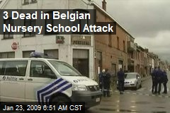 3 Dead in Belgian Nursery School Attack