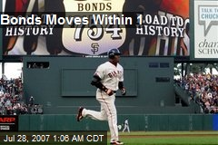 Bonds Moves Within 1
