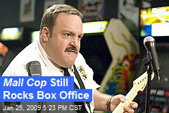 Mall Cop Still Rocks Box Office