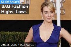 SAG Fashion Highs, Lows
