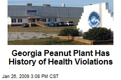 Georgia Peanut Plant Has History of Health Violations