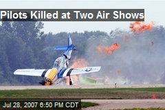 Pilots Killed at Two Air Shows