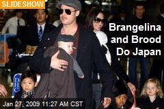 Brangelina and Brood Do Japan