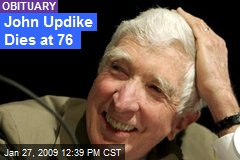 John Updike Dies at 76