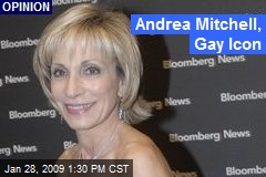 Andrea Mitchell, Gay Icon