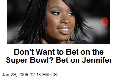 Don't Want to Bet on the Super Bowl? Bet on Jennifer