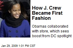 How J. Crew Became First Fashion
