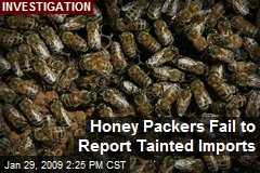 Honey Packers Fail to Report Tainted Imports