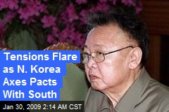 Tensions Flare as N. Korea Axes Pacts With South