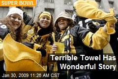 Terrible Towel Has Wonderful Story