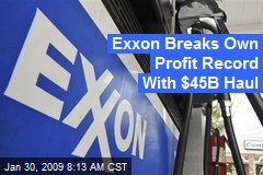 Exxon Breaks Own Profit Record With $45B Haul