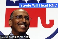 Steele Will Head RNC