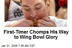 First-Timer Chomps His Way to Wing Bowl Glory