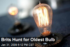 Brits Hunt for Oldest Bulb