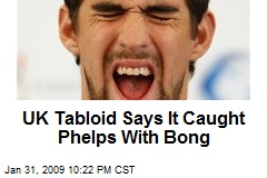 UK Tabloid Says It Caught Phelps With Bong