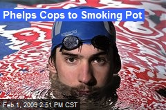 Phelps Cops to Smoking Pot