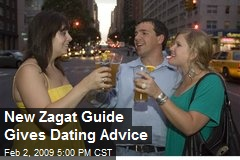 New Zagat Guide Gives Dating Advice