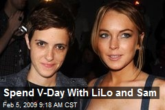 Spend V-Day With LiLo and Sam