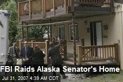 FBI Raids Alaska Senator's Home