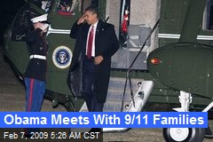 Obama Meets With 9/11 Families