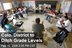 Colo. District to Ditch Grade Levels