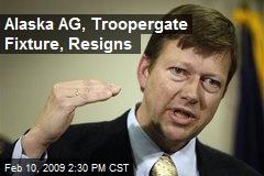 Alaska AG, Troopergate Fixture, Resigns