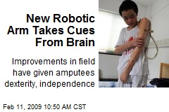 New Robotic Arm Takes Cues From Brain