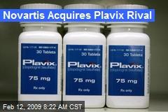 Novartis Acquires Plavix Rival