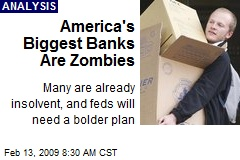 America's Biggest Banks Are Zombies