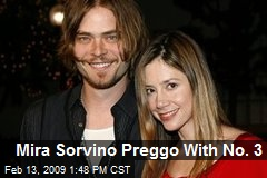 Mira Sorvino Preggo With No. 3