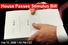 House Passes Stimulus Bill