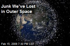 Junk We've Lost in Outer Space