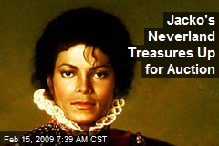 Jacko's Neverland Treasures Up for Auction