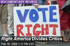 Right America Divides Critics
