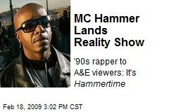 MC Hammer Lands Reality Show
