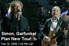 Simon, Garfunkel Plan New Tour
