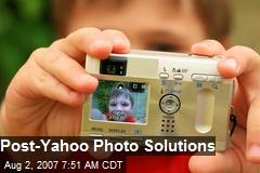 Post-Yahoo Photo Solutions